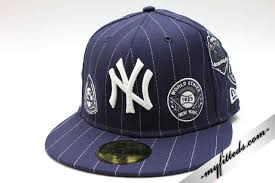 Wholesale Quality 100 Superman Series New Stores Hat Navy Hats Era Guarantee N World Fitted Blank High Yankees Cap new y