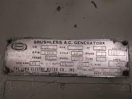 condec lima brushless ac generator 10kw 1500rpm ph1 120 240volts sku agx225