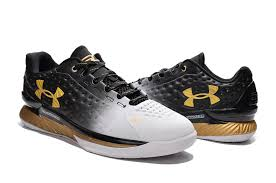 under armour basketball shoes low. cheap men\u0027s/women\u0027s under armour ua stephen curry one mvp low basketball shoes black/white/gold australia for sale restock b