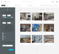 Website Filter Design Examples Real Estate Agency Apartment Filters Web Design Examples