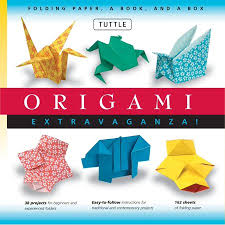 Papers Paper Origami Extravaganza Folding Paper A Book And A Box Origami Kit Includes Origami Book 38 Fun Projects And 162 High Quality Origami Papers Great
