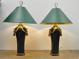vintage green shade desk lamp