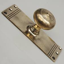 More Ideas For Door Knob Backplate — The Homy Design