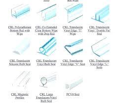 frameless shower door seals and sweeps glass shower door gasket shower shower door seal 1 4 inch glass shower door sealant strip
