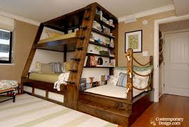 Double Deck Design For Small Bedroom Wood Double Decker Designs In 2020 Bunk Bed Plans Cool