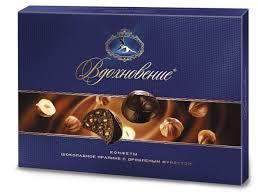Набор <b>конфет</b> Вдохновение Шоколадное <b>пралине с</b> дробленым ...