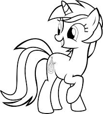 My Little Pony Lyra Coloring