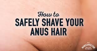 Shaving your ass hair