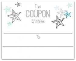 Coupon 3 Free Printable Gift Certificates Gift
