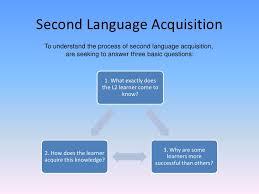second language acquisition  <br > 4 second language acquisition<br