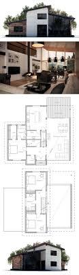 Modern 3 Bedroom House Floor Plans 17 Best Ideas About Modern House Plans On Pinterest Modern House