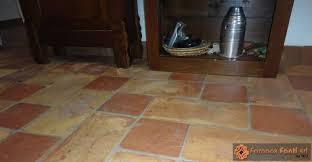 Pavimento Cotto Rosso : Restauro in villa a piove di sacco pd