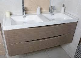 double basin vanity units for bathroom. motiv 1200 wall mounted double basin vanity unit grey elm units for bathroom v
