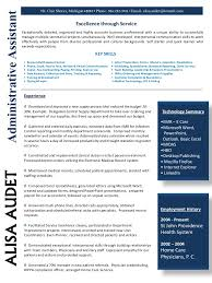 95 Administrative Assistant Resume Sample 2015 Administrative