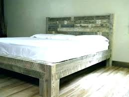 Wood Bed Frame King Cute Wood Bed Frame King 5 The Kings Wooden By ...