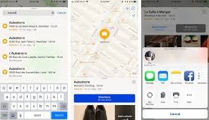 how to open apple maps locations and directions in google maps  imore
