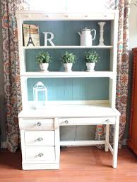 shabby chic office decor. Shabby Chic Desk Outstanding Cottage Hutch Home Office Decor . S