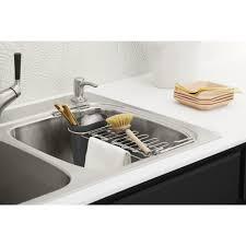 Kitchen Sink Drain Rack Kohler Kitchen Sink Utility Rack Wayfair