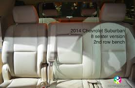 2016 cadillac escalade chevrolet suburban gmc yukon 2nd row with 3rd row folded down showing 3 tether anchors on bottom of vehicle seat