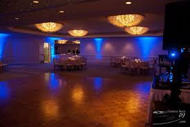the creative music dj loews wedding 2011 blue uplights blue wedding uplighting