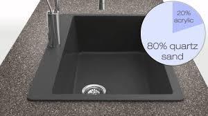 Granite Kitchen Sink Reviews Houzer Quartztone Granite Series Kitchen Sinks At Kitchensource
