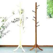 Coat Rack Hanger Stand Mesmerizing Standing Coat Racks Standing Coat Rack For Sale At Diy Standing Coat