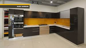 Fiber Modular Kitchen Design