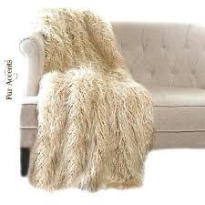 faux fur throw rug image 0 rugs australia