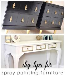spray painting furniture diy tips centsational girl painting furniture