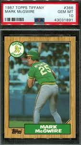 Maybe you would like to learn more about one of these? Mark Mcgwire Rookie Card Value Guide Review