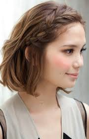short braided hair cute hairstyles for s