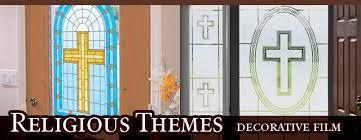 cristian themed window
