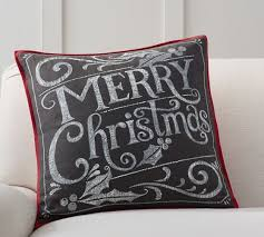 Pottery Barn Christmas Pillow Covers
