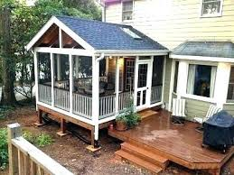 Enclosed deck ideas Sunroom Projects Enclosed Decks Ideas Enclosed Decks Ideas Enclosed Deck Ideas Best Small Enclosed Porch Ideas On Small Enclosed Decks Ideas Cheapcialishascom Enclosed Decks Ideas Screened Porch Or Deck Important