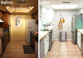 image of small kitchen remodel before and after galley kitchens ideas photos on a budget
