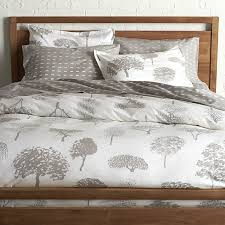 marimekko rantapuisto grey full queen duvet cover i crate and barrel