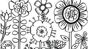 Valuable Design Free Coloring Pages For Girls Flowers Http Colorings