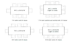 sizes of dining tables dining table sizes for 8 standard dining table sizes length for com sizes of dining tables