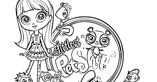 Small Picture Littlest Pet Shop coloring pagesjpg