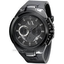 "men s armani exchange chronograph watch ax1050 watch shop comâ""¢ mens armani exchange chronograph watch ax1050"
