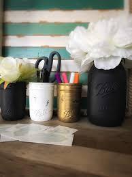 rustic desk accessories mason jar desk set stylish desk accessories desk decor