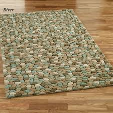 pebble area rugs sculpted