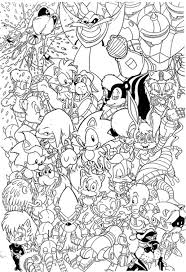 Small Picture Sonic 160 Video Games Printable coloring pages