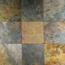 Slate Tiles For Kitchen Floor Slate Tile Floor In Basement Basement Pinterest Fireplace