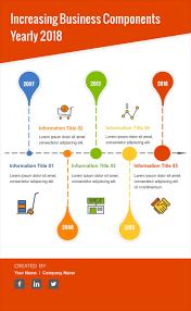 Timeline Milestones Infographic Design Visme Introduces New Infographic Timeline