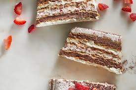 Neapolitan Icebox Cake Recipe on Food52