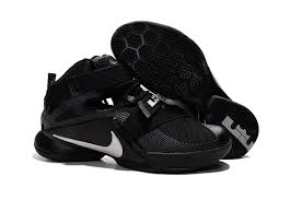 lebron james shoes all white. nike lebron soldier 9 blackout all black basketball shoe lebron james shoes white