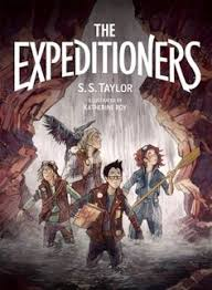 book the expeditioners and the trere of drowned man s canyon author s taylor ilrator katherine roy pages 320 age range 10 and up the
