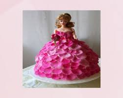 Creamy Barbie Cake Online Cake Delivery In Surat