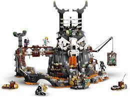 LEGO 71722 NINJAGO Verlies des Totenkopfmagiers, 2-in-1 Bauset und  Brettspiel mit 8 Minifiguren: Amazon.de: Spielzeug